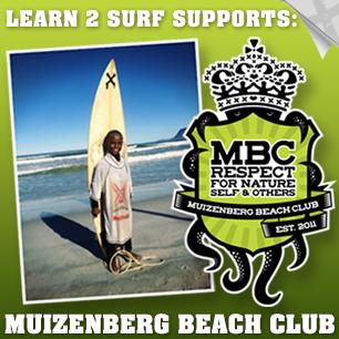 Surfing Outreach Muizenberg